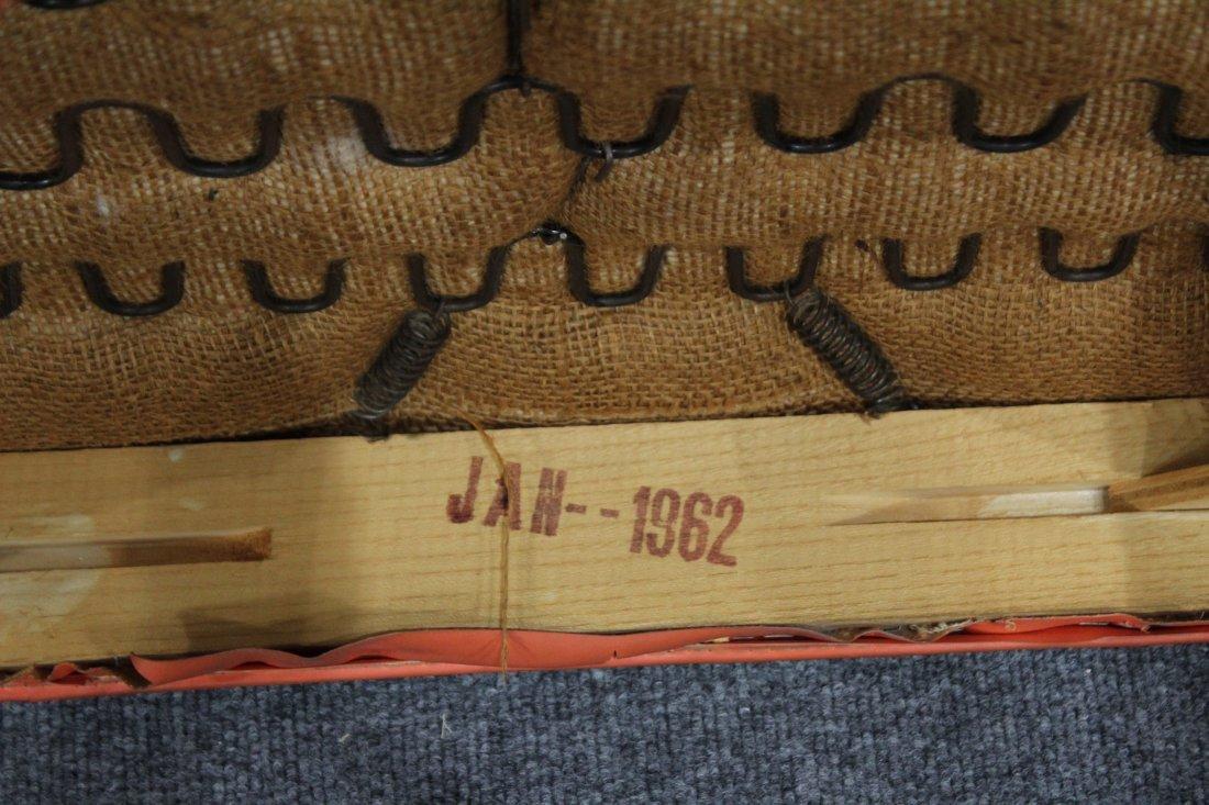 Mid Century Modern Danish Design Barrel Back Arm Chair - 5
