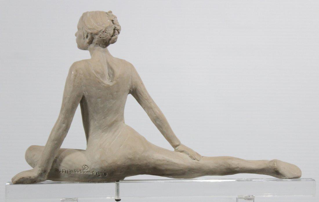 Ceramic Female Dancer On Lucite Stand Austin Production - 4