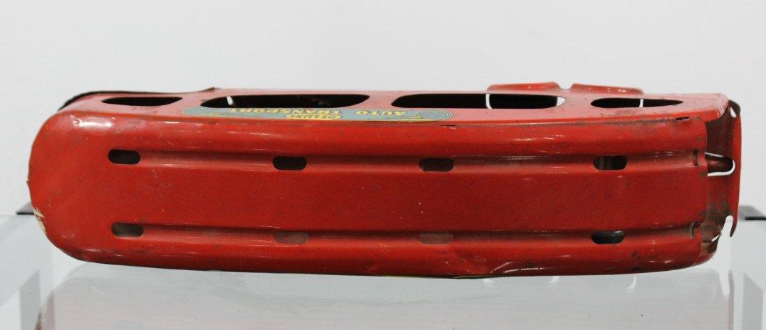 Antique MARX PRESSED STEEL DELUXE AUTO TRANSPORT BODY - 5