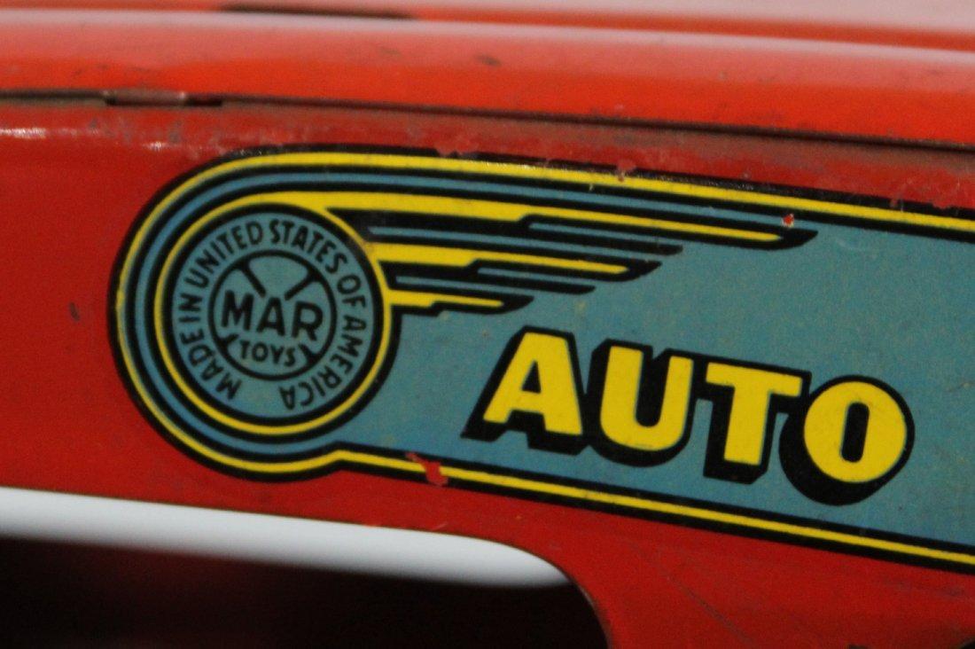 Antique MARX PRESSED STEEL DELUXE AUTO TRANSPORT BODY - 7