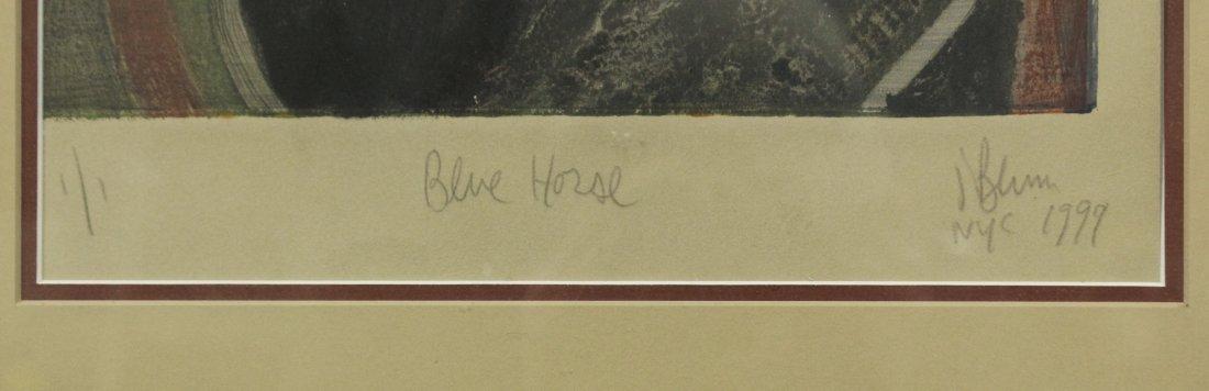 JONATHAN BLUM NYC Print HORSE HEAD No. 1 Edition of 1 - 2