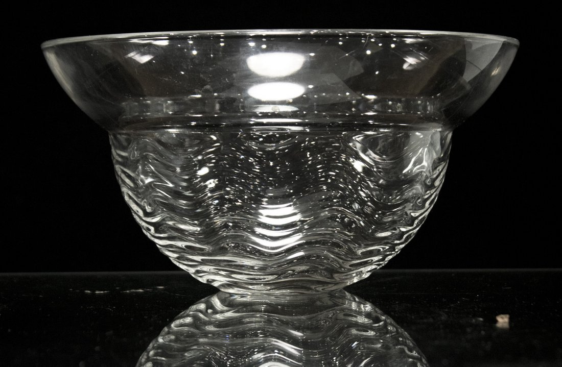 ROSENTHAL Studio Linie GERMANY CRYSTAL RIPPLE BOWL