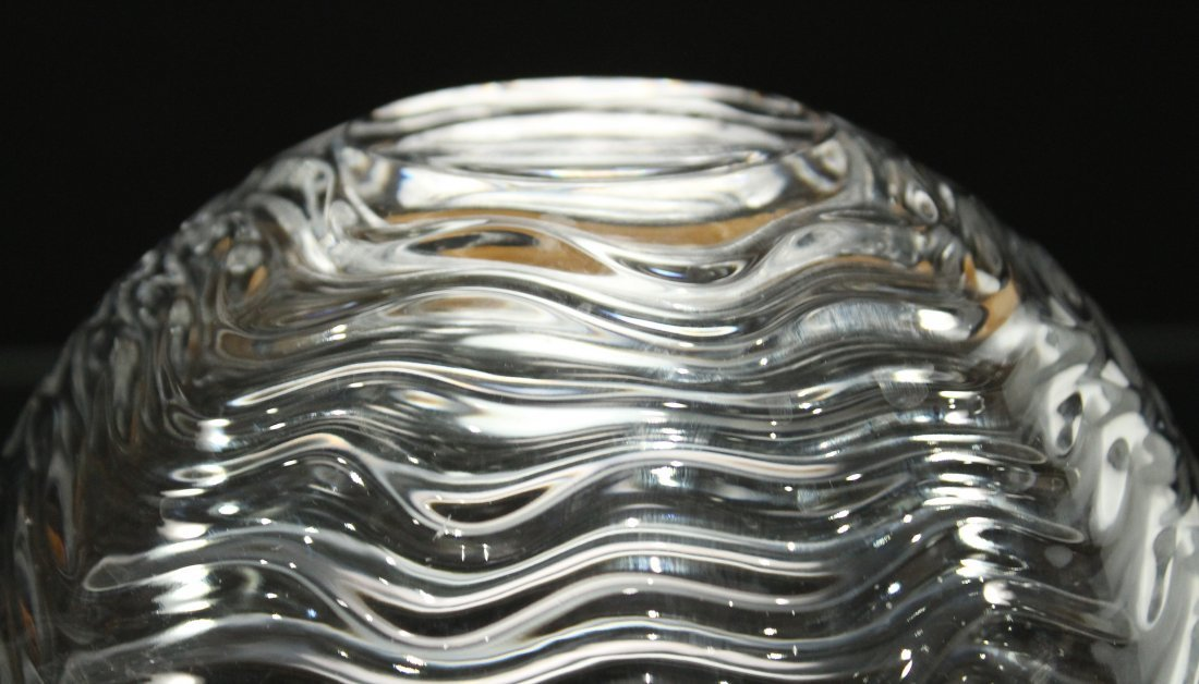 ROSENTHAL Studio Linie GERMANY CRYSTAL RIPPLE BOWL - 4