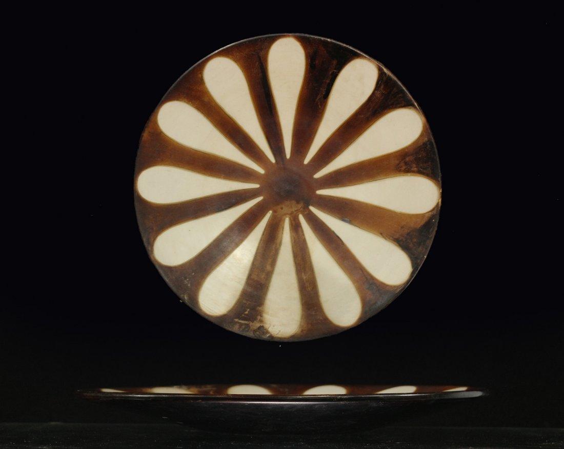 MID CENTURY MOD CERAMIC DECORATIVE PLATE