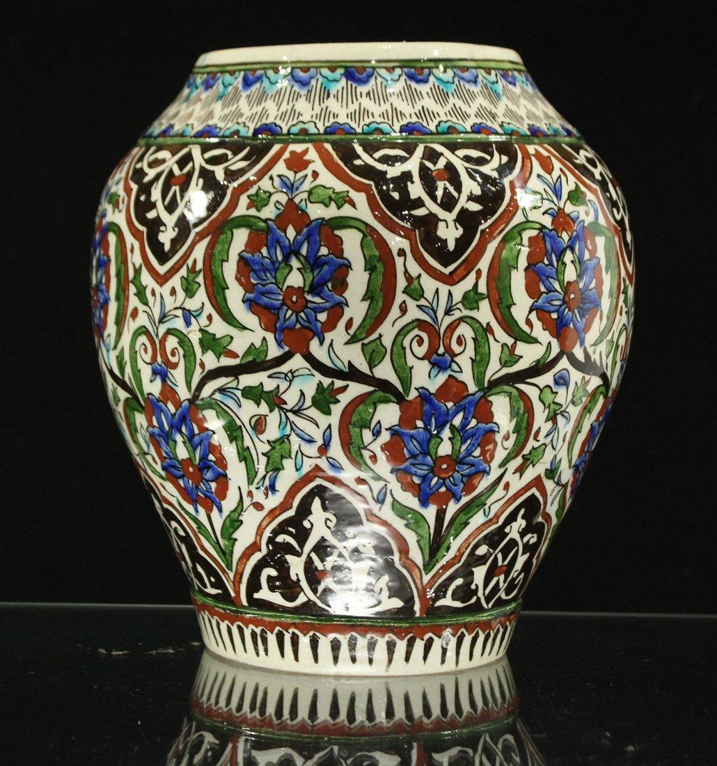 Italian Renaissance Decorated Ceramic Vase