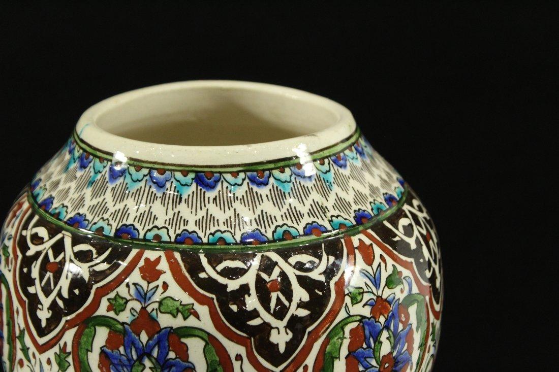 Italian Renaissance Decorated Ceramic Vase - 2