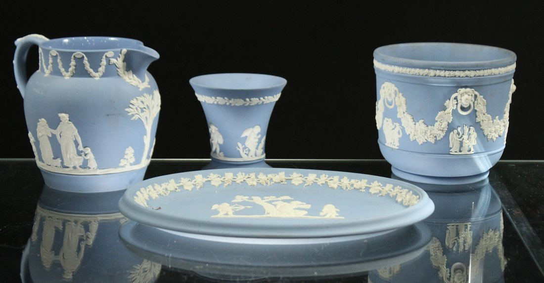 Four [4] Piece Assorted WEDGEWOOD Grouping