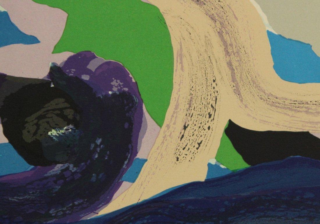 KAREL APPEL OFF-SET LITHOGRAPH #156 Ed 160 BLUE FIGURE - 4