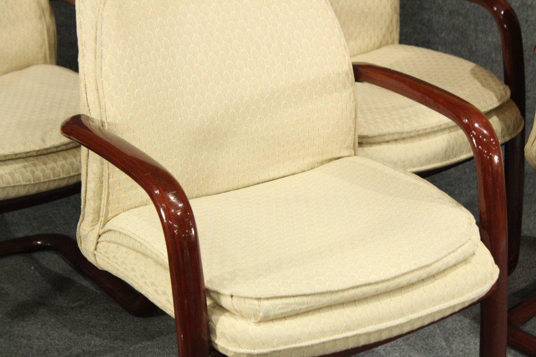 1980's Mid-century modern Gunlocke arm chairs - 2