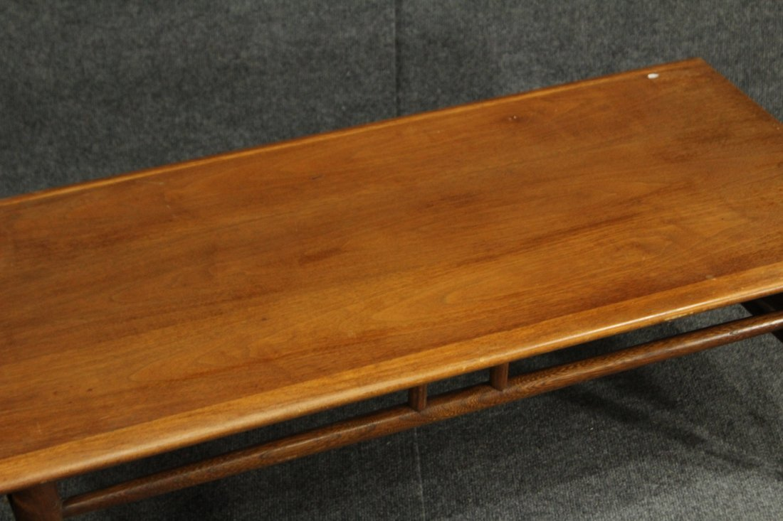 Mid Century LANE WALNUT DROP LEAF SIDES COFFEE TABLE - 4