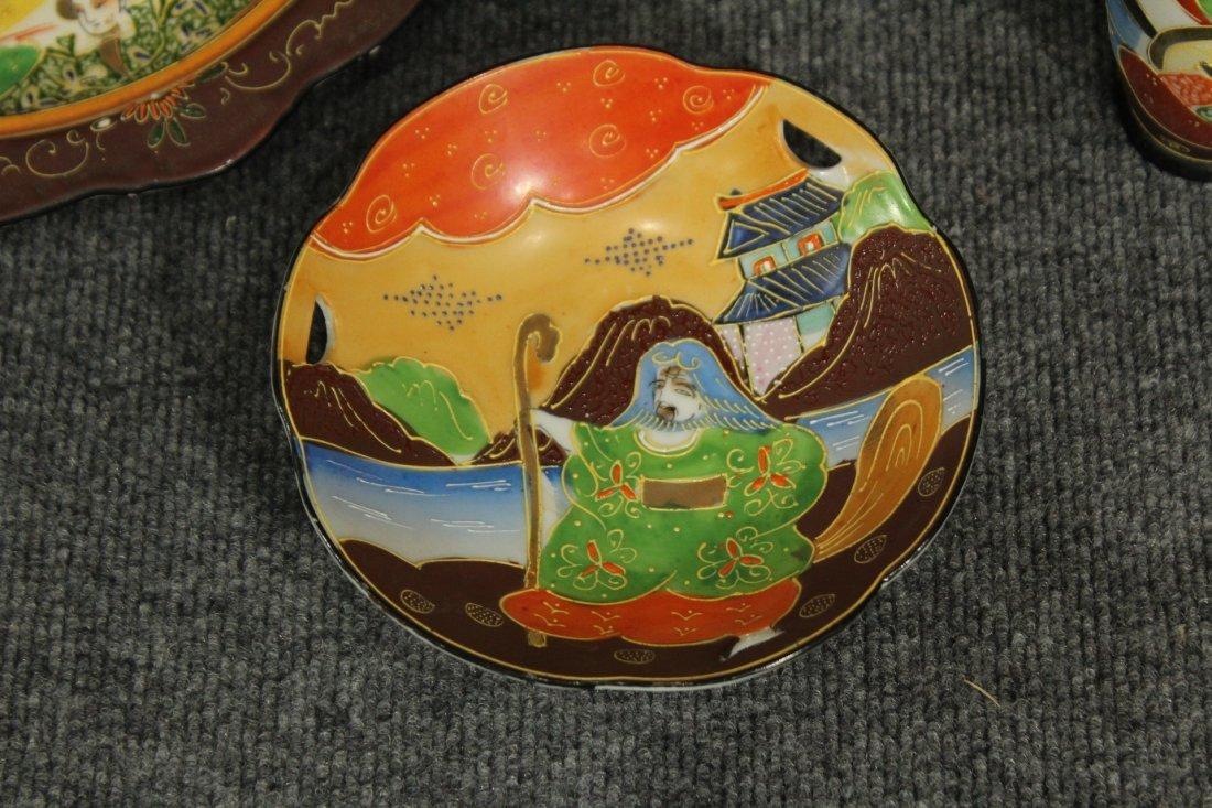 Vintage Japense Satsuma picnic set - 5