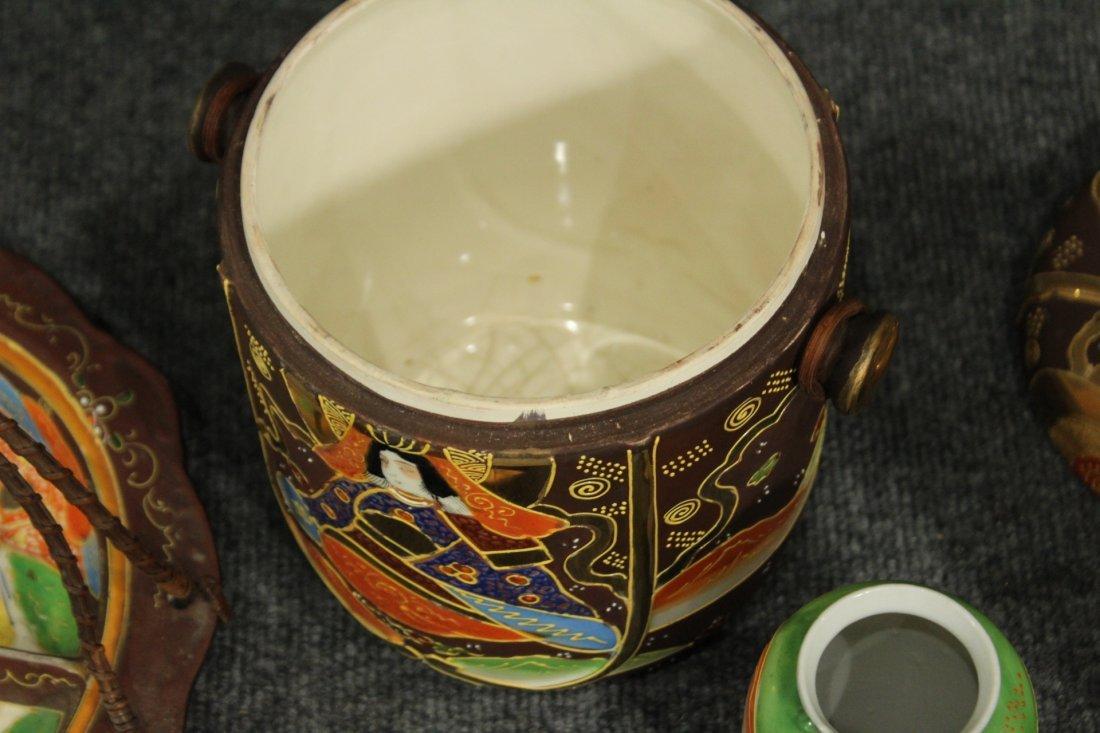 Vintage Japense Satsuma picnic set - 6