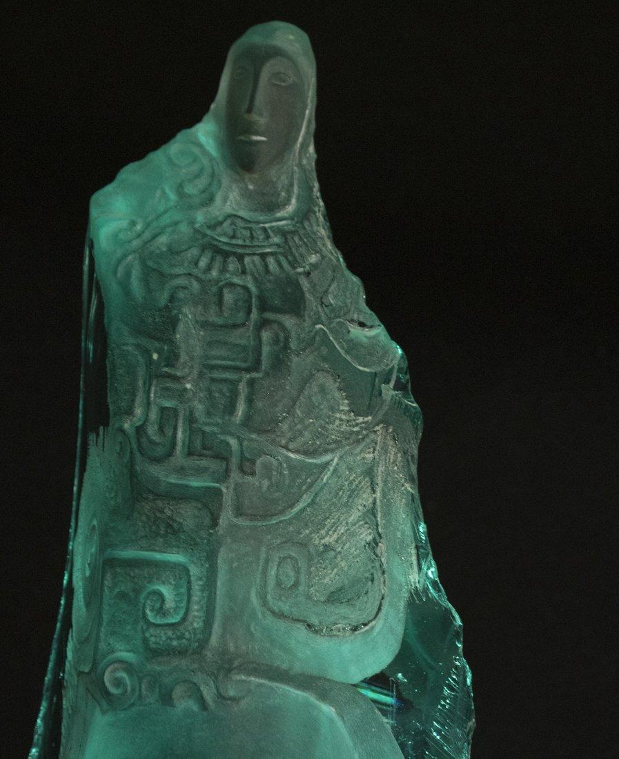 "Yucel Kale ""Untitled-2"" glass sculpture - 4"