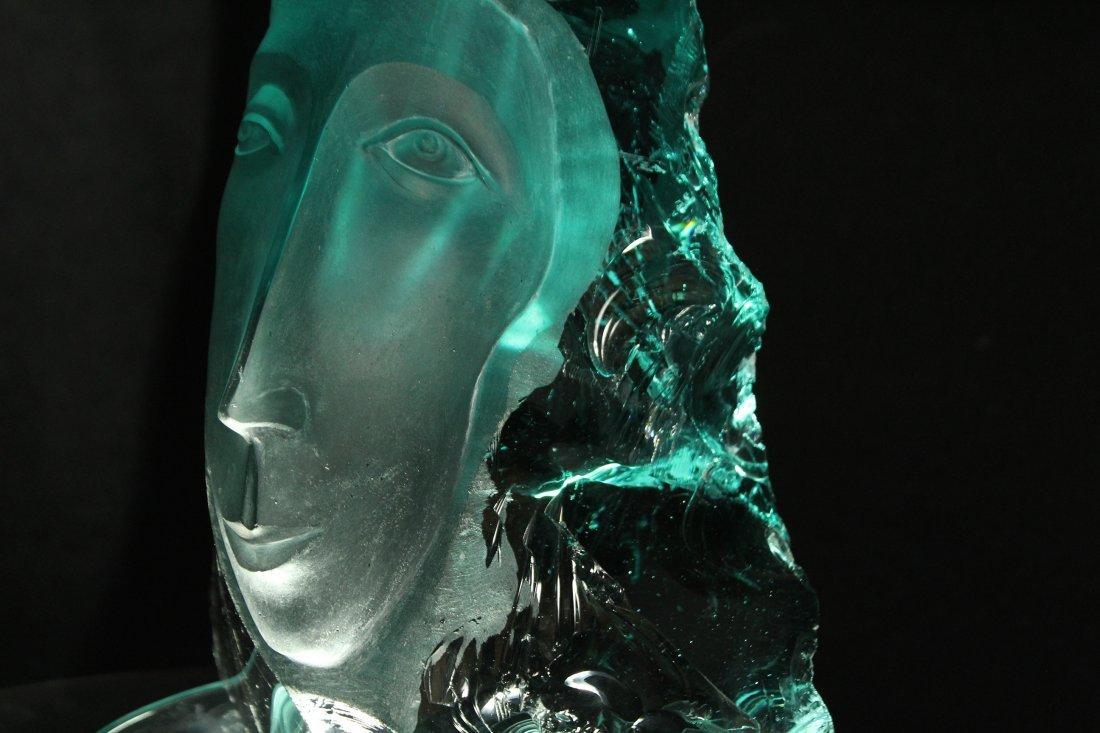 "Yucel Kale ""Untitled-2"" glass sculpture - 5"
