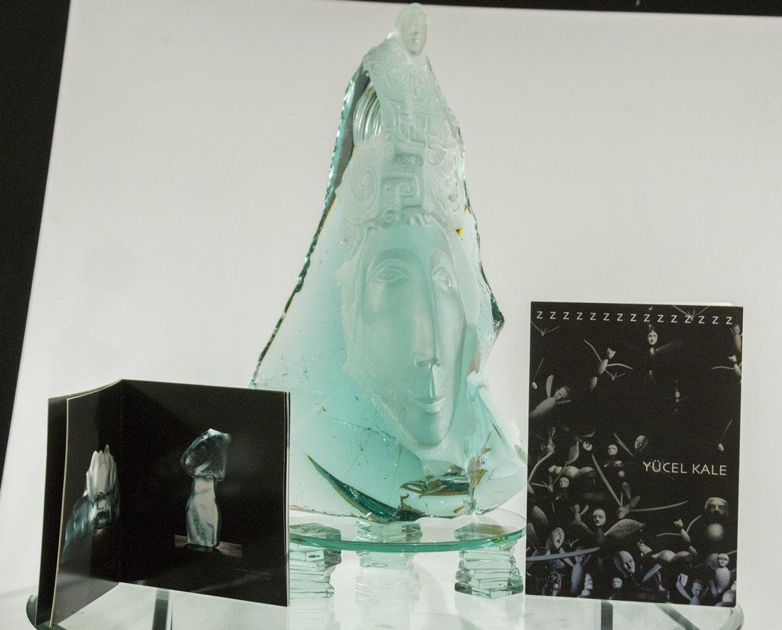 "Yucel Kale ""Untitled-2"" glass sculpture - 7"