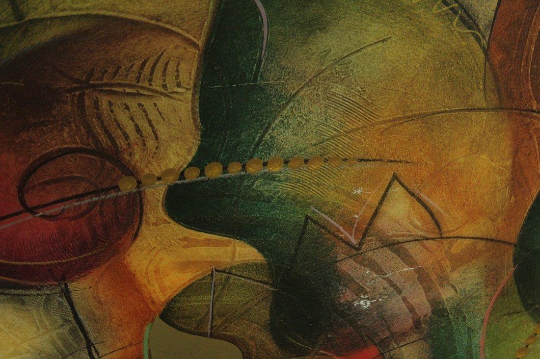 Large Kadinsky style wall art - 2