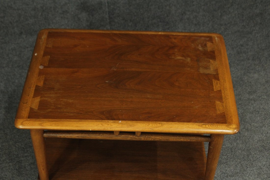 LANE Mid-century Modern occasional side table - 2