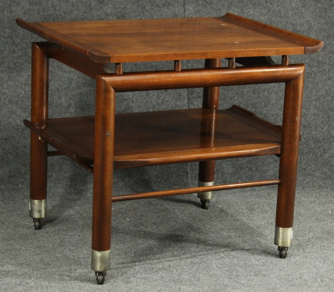 Willett mid-century modern end table
