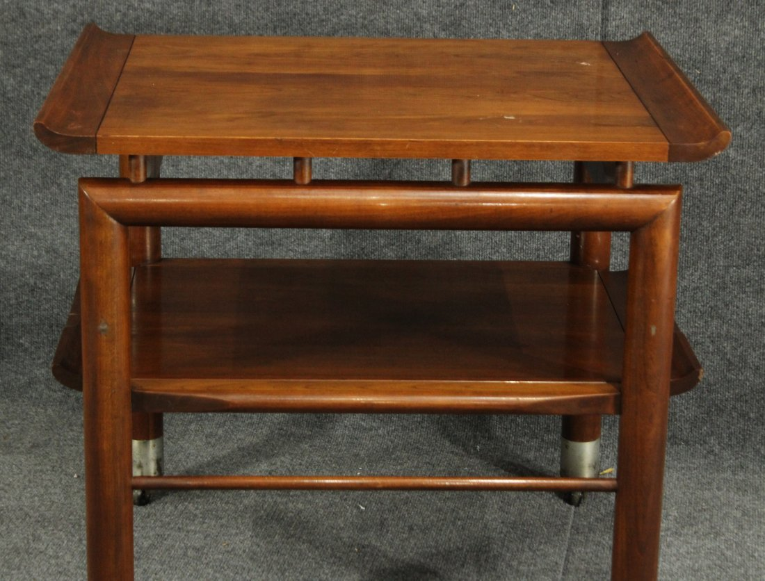 Willett mid-century modern end table - 2