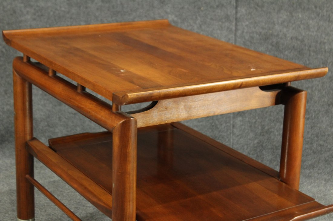 Willett mid-century modern end table - 6