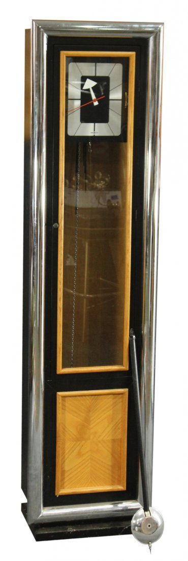 MILO BAUGHMAN Style HOWARD MILLER TALL CASE CLOCK