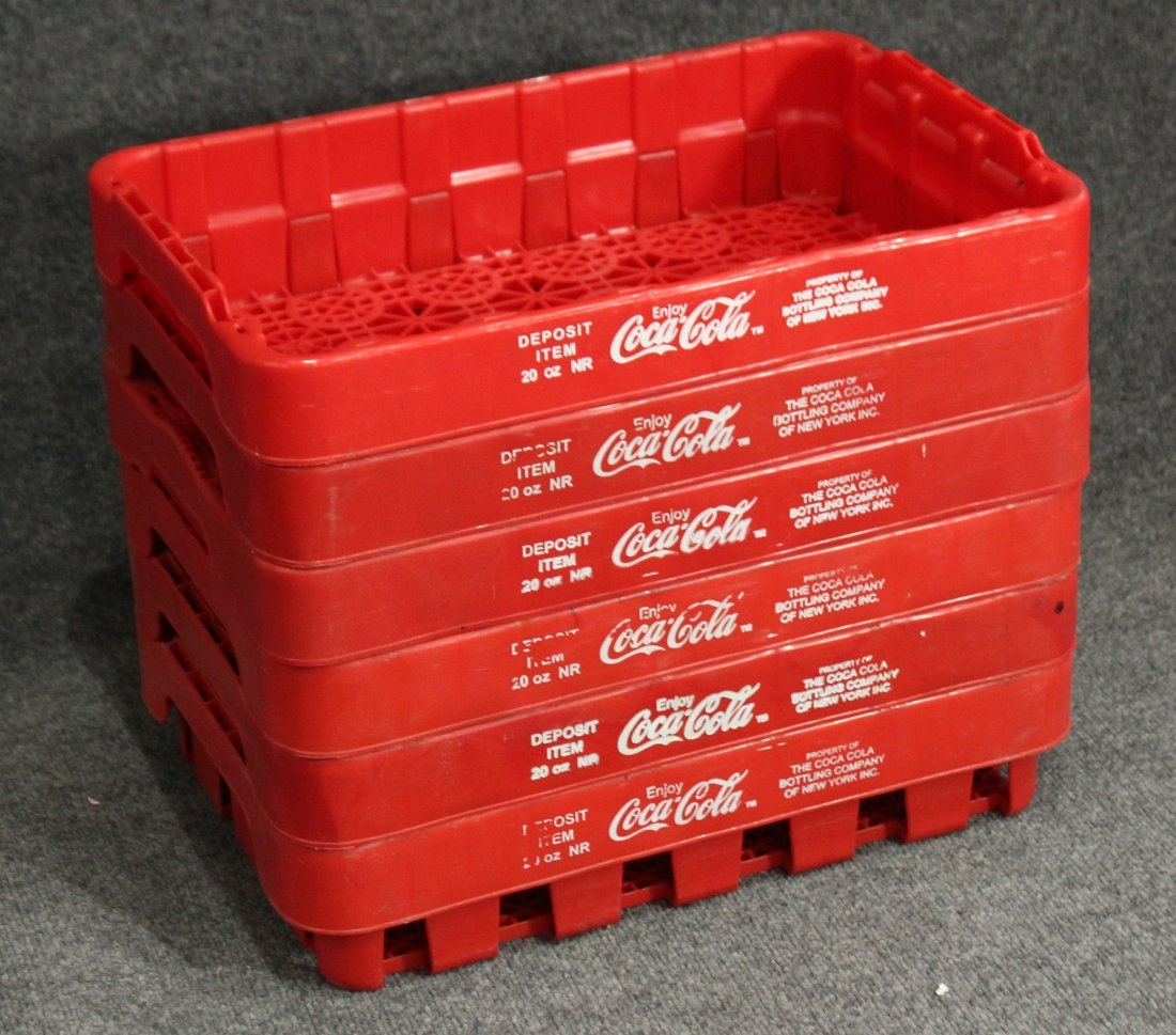 Coca-Cola red cup trays 6 (six)