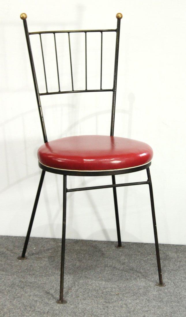 PAUL McCOBB Style Metal Desk Chair / Side Chair