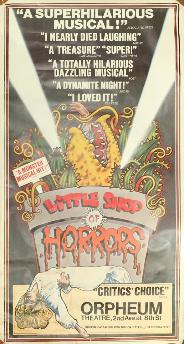 Vintage Musical Poster: LITTLE SHOP OF HORRORS