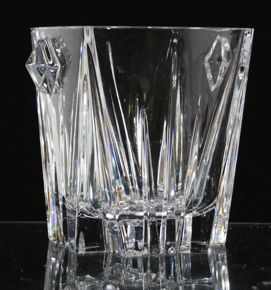 LENOX CRYSTAL Mid Century Design Cubistic ICE BUCKET