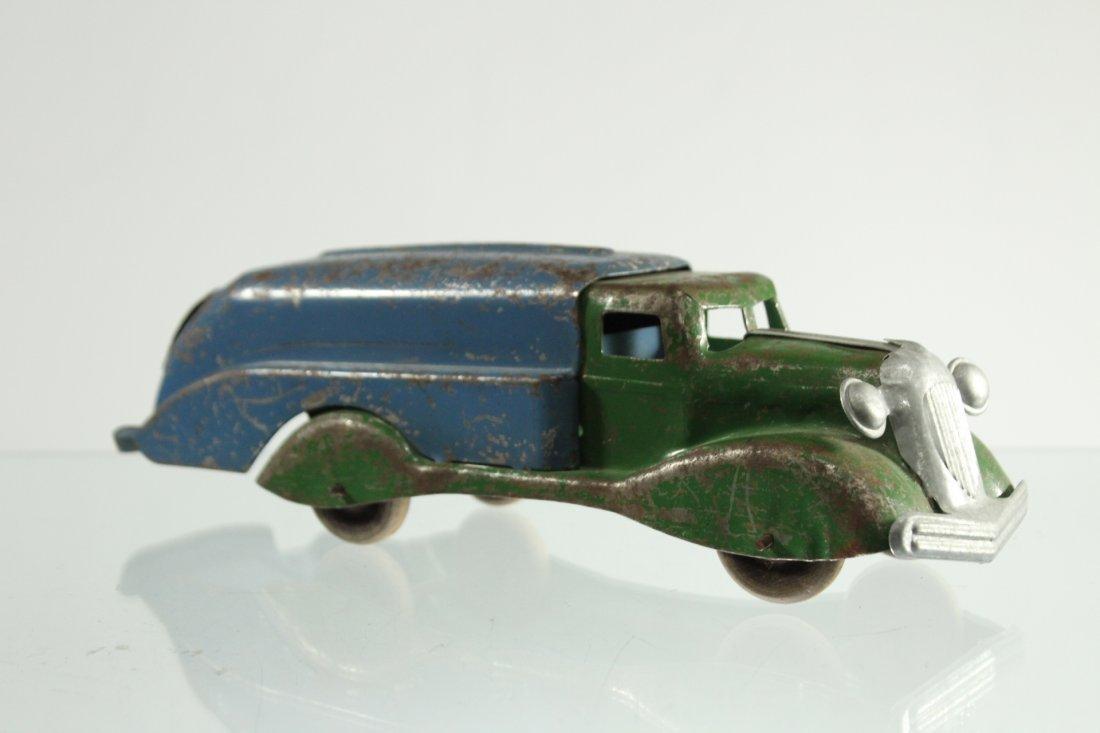Antique PRESSED STEEL truck