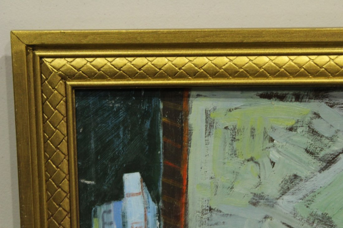 MICHAEL BAXTE Oil/b TABLE TOP STILL LIFE , SIGNED - 4