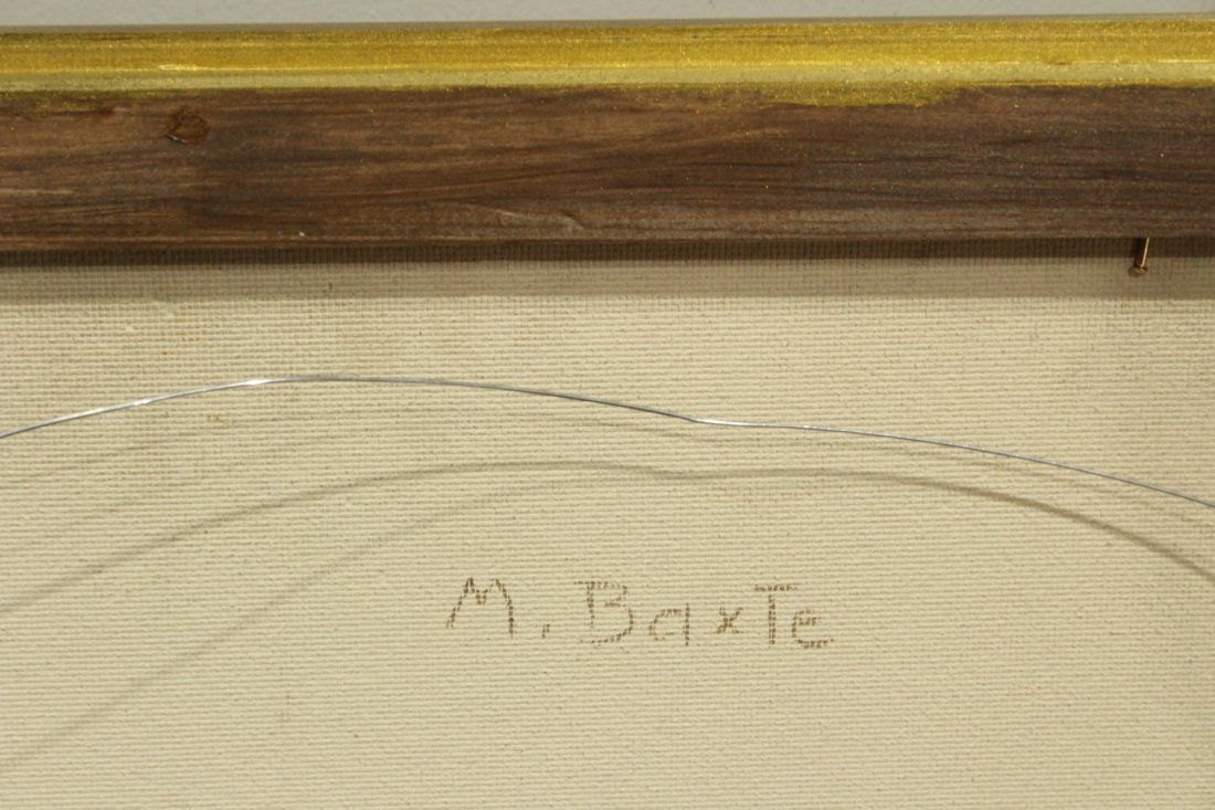 MICHAEL BAXTE Oil/b TABLE TOP STILL LIFE , SIGNED - 6