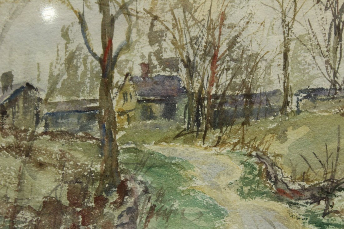 FRANK ZELL HEUSTON [2] Watercolor FINE LANDSCAPES - 3