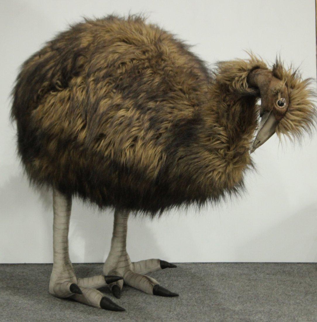 EMU 31 inch Tall LIFE SIZE PLUSH STUFFED TOY ANIMAL