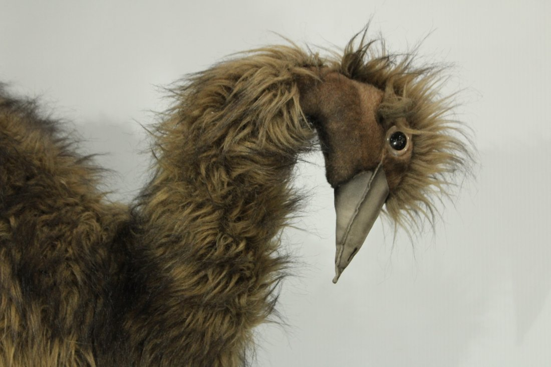 EMU 31 inch Tall LIFE SIZE PLUSH STUFFED TOY ANIMAL - 2