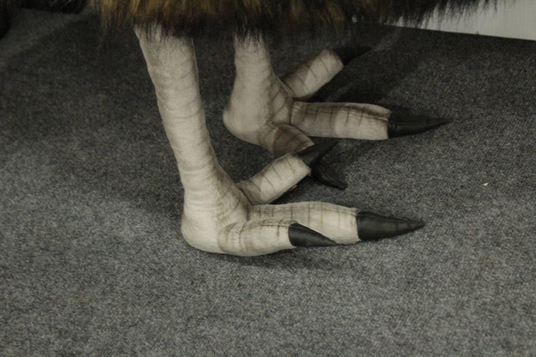EMU 31 inch Tall LIFE SIZE PLUSH STUFFED TOY ANIMAL - 3