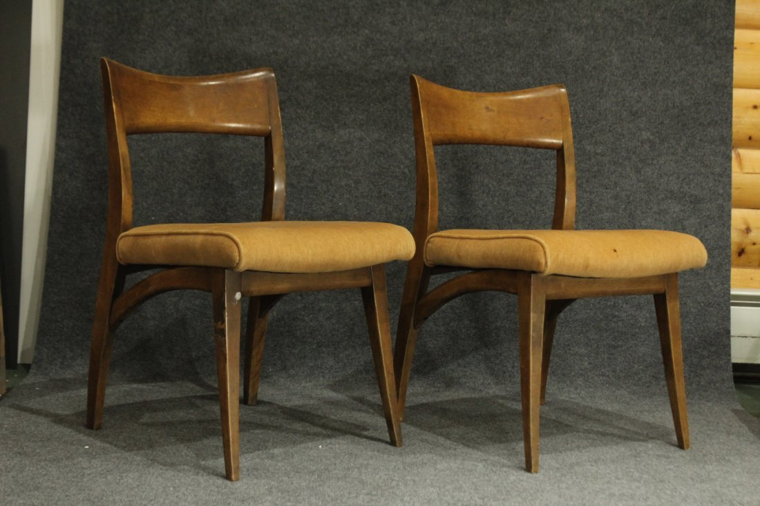 HEYWOOD WAKEFIELD Set of 6 MID CENTURY DINING CHAIRS - 3