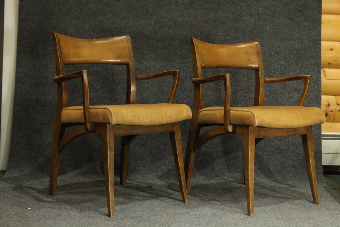 HEYWOOD WAKEFIELD Set of 6 MID CENTURY DINING CHAIRS - 5