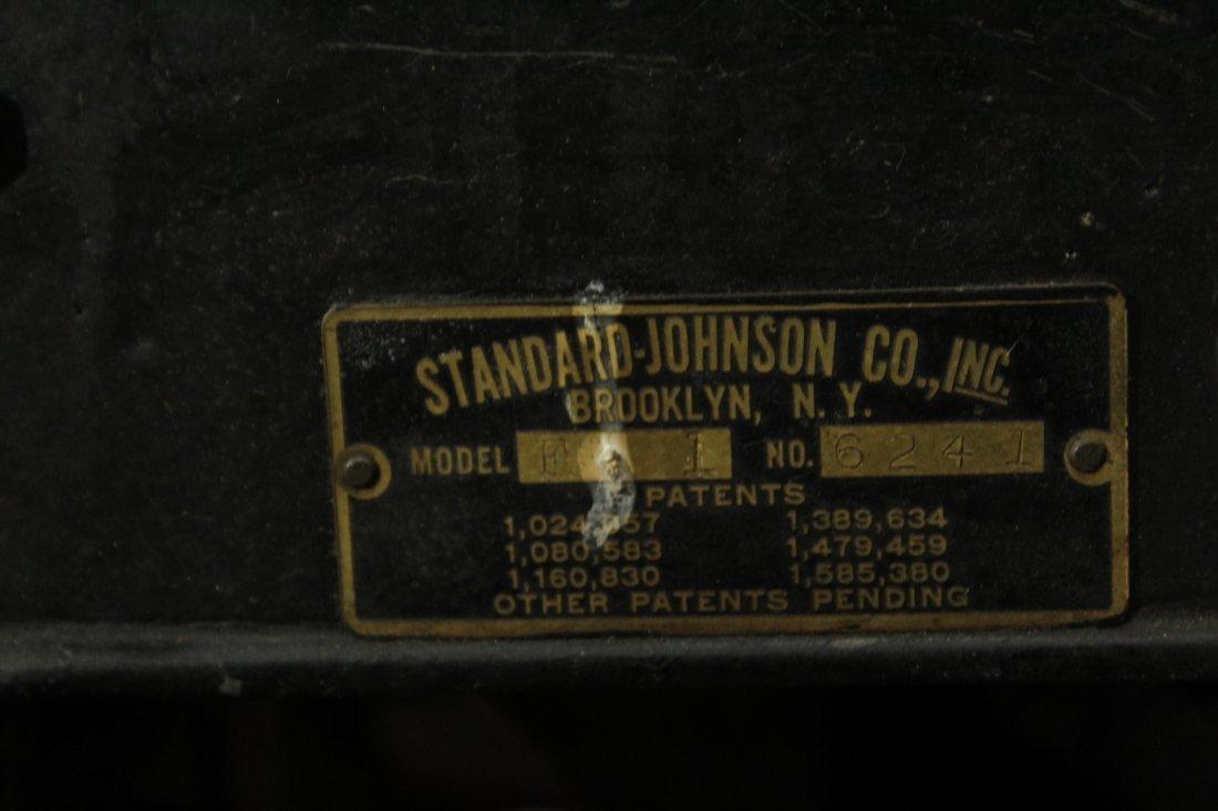 ANTIQUE BANK COIN COUNTER - STANDARD JOHNSON Brooklyn - 8