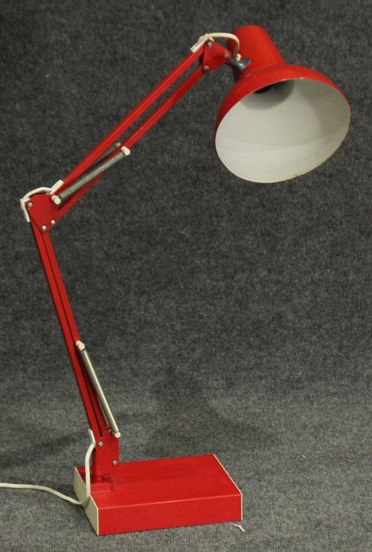 RED Italian Design ADJUSTABLE ARCHITECT DESK LAMP