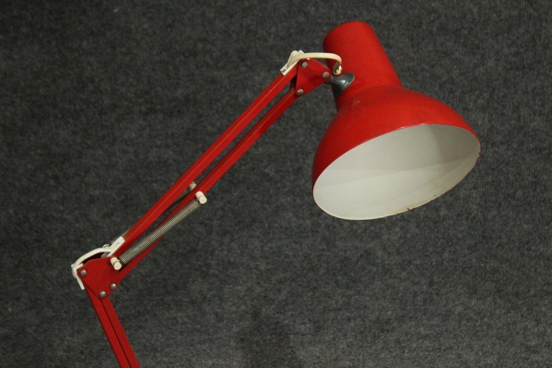 RED Italian Design ADJUSTABLE ARCHITECT DESK LAMP - 2
