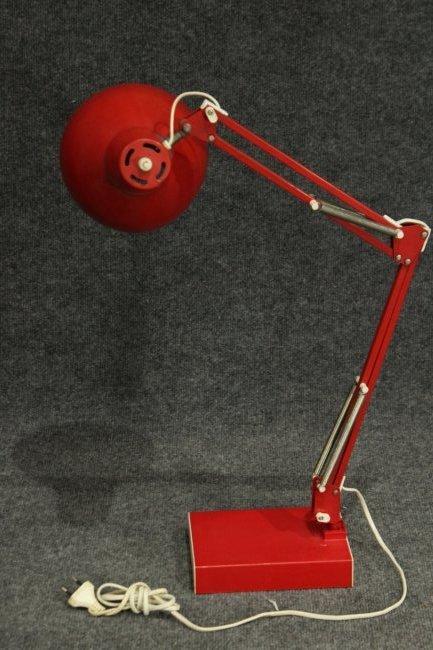 RED Italian Design ADJUSTABLE ARCHITECT DESK LAMP - 4