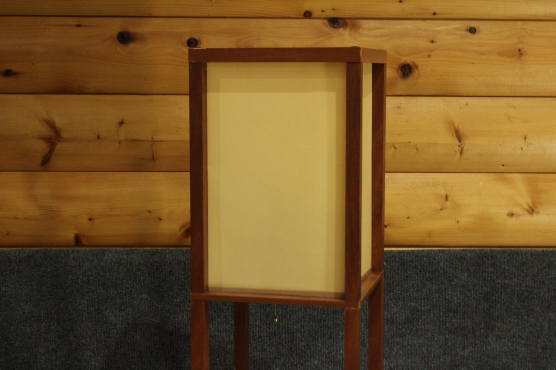 Mid Century Design TOWER LAMP Tall Narrow Square - 2