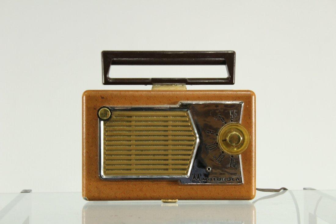 Vintage MOTOROLA Portable Radio Car Grill Design Front