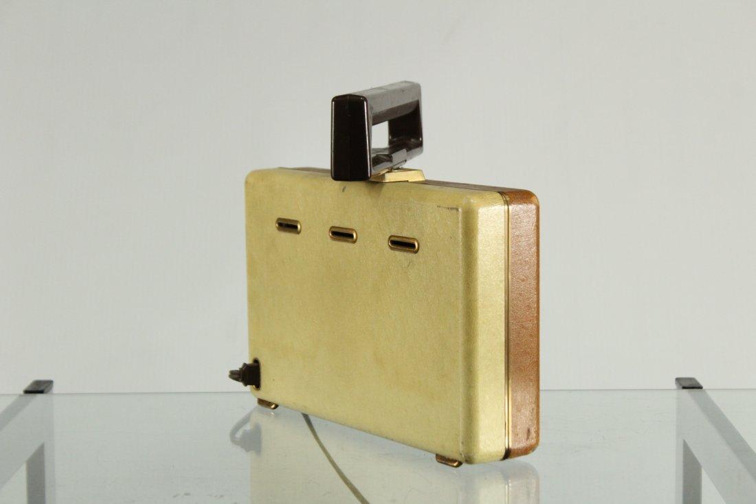 Vintage MOTOROLA Portable Radio Car Grill Design Front - 2