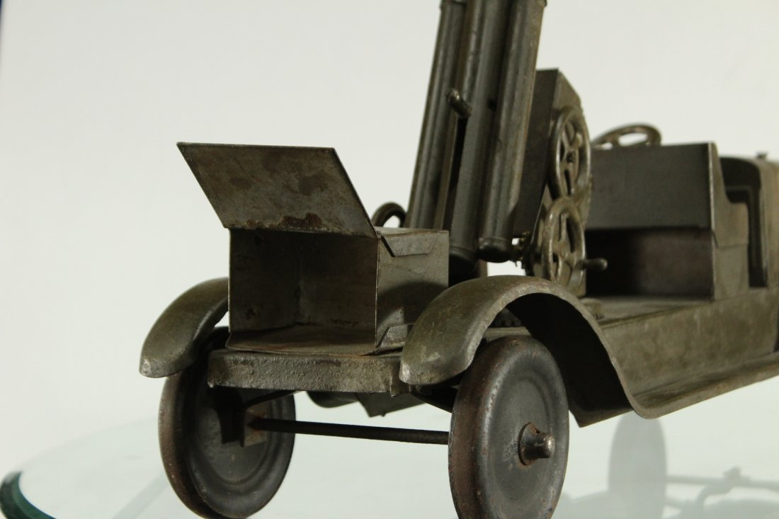SON-NY ARMY PRESSED STEEL CANNON TRUCK - All Original - 9