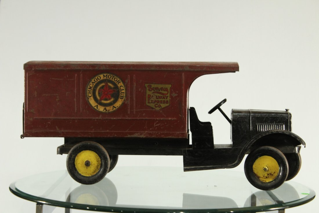 SON-NY RAILWAY EXPRESS PRESSED STEEL DELIVERY TRUCK