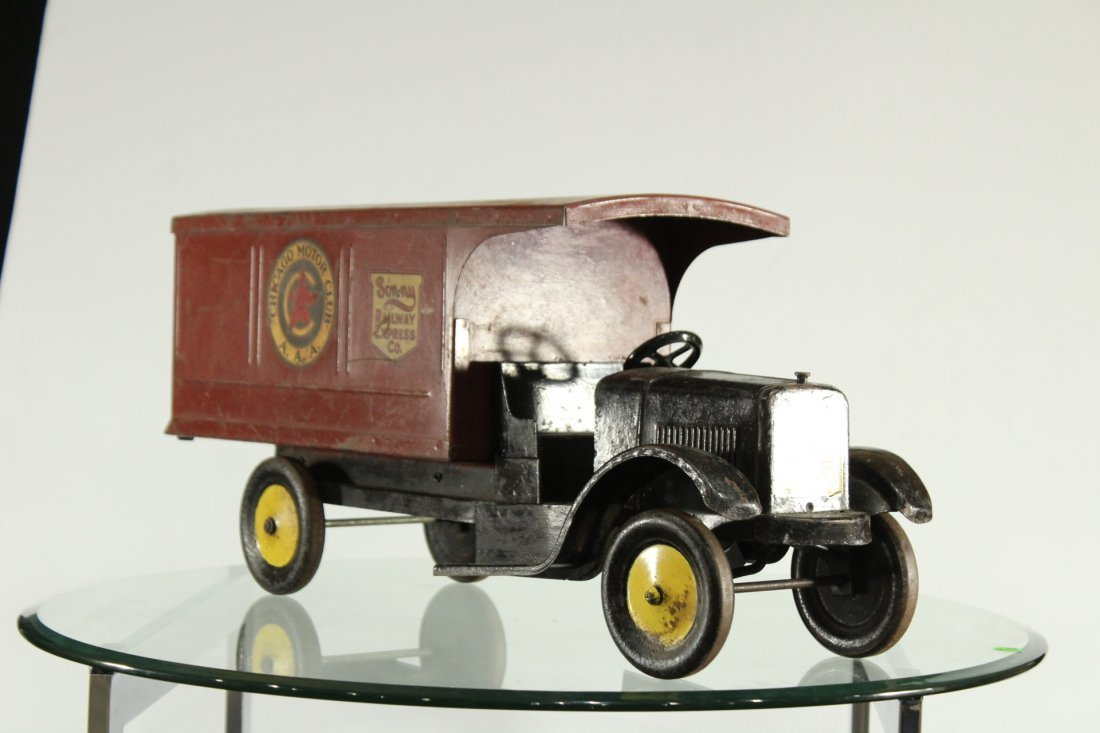 SON-NY RAILWAY EXPRESS PRESSED STEEL DELIVERY TRUCK - 2