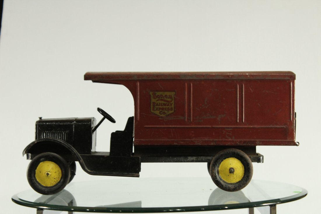 SON-NY RAILWAY EXPRESS PRESSED STEEL DELIVERY TRUCK - 5
