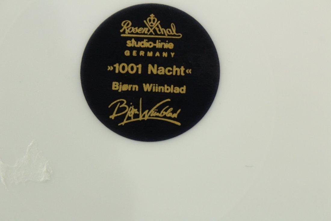 2 BJORN WIINBLOD Collectors Plates ROSENTHAL 1001 NACHT - 6